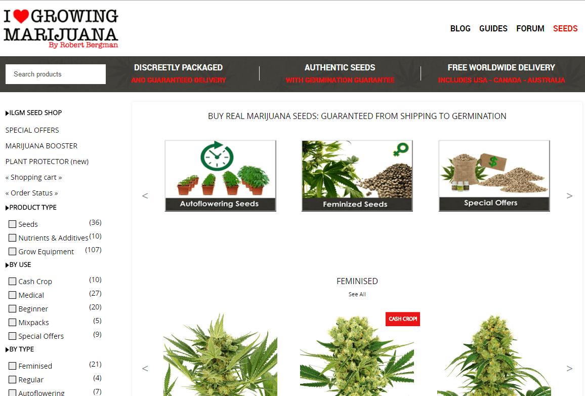 I love growing marijuana seed bank